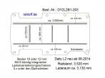 Daily Boden mit 5 Zurrschienen längs + quer L2 neu T203