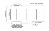 Transit neu Boden mit 4 Ladungssicherungs- Schienen L3 HA T201