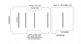 Transit neu Boden mit 5 Ladungssicherungs- Schienen L4 HA T201