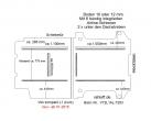Vito Boden 6 Airline Schienen längs + quer (L1 neu T203)