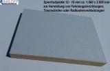 Sperrholzplatte 12 - 18 mm ca. 1.880 x 2.000 mm zur Herstellung von Fahrzeugeinrichtungen und Trennwänden