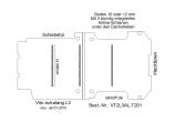 Vito Boden 3 Airline Schienen unter d. Dachstreben (L3 neu T201)