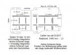 Crafter neu Boden mit 16 Ladungssicherungs- Schienen L3-308