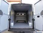 MAN TGE - Crafter Plus - Doppelkabine Seitenverkleidung aus Kunststoff - L3