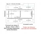 Connect Boden mit 5 Airline Schienen längs + quer (L2 - 202)