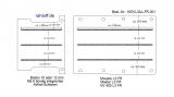 Movano Master Boden mit 6 Ladungssicherungs-Schienen (L3 T301)
