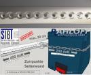 Crafter - MAN TGE Airline-Zurrleisten L5 Mit Zertifizierung DIN ISO 27956: 2011 - bis 200 daN