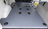 T5 - T6 Kombi Boden mit Löchern für Sitzaufnahmen Ausführung Typ 2 - Ohne Deckel - Radstand L1 kurz