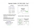 Sprinter Crafter Seitenverkleidung aus Kunststoff PP L1
