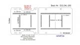 Citroen Jumper L4 Boden Ladungssicherungs - Schienen 9x
