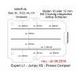 Citroen Jumpy XS Boden mit 3 Ladungssicherungs-Schienen L1 neu T301