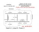Toyota Proace L1, neu ab 06-2016,  Boden mit 5 Ladungssicherungs-Schienen neu T204